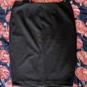 Black pencil skirt - never worn